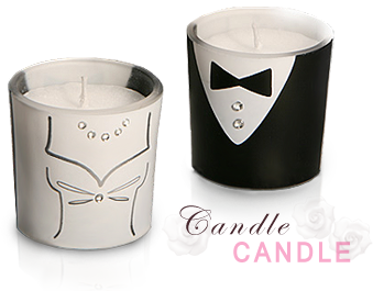 Candle Wedding Favors Wholesale | Floral, Heart Shaped and Other