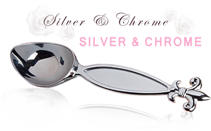Silver & Chrome Wedding Favors