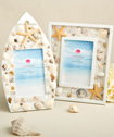 Decorative Sea Shell adorned picture frames