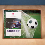 fabulous Soccer frame 4 x 6 from gifts by fashioncraft