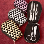 Geometric design manicure set from gifts by Fashioncraft®