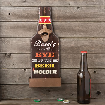 Beauty is in the eyes of the beer holder - bottle opener