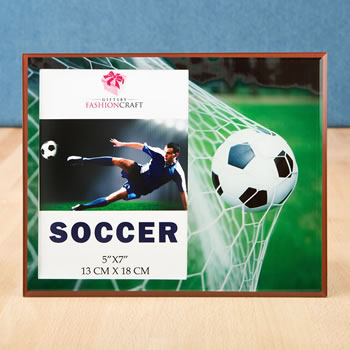 Fabulous Soccer themed Frame 5 x 7 from Gifts By Fashioncraft