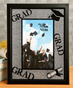 Glitter Stone Graduation frame from Gifts By Fashioncraft