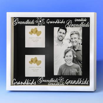Grandkids SHADOW BOX collage from gifts by Fashioncraft®