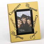 Gold 2 x 3 Congrats frame in acetate box