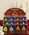 Golden Buddha Figurines from Gifts By Fashioncraft