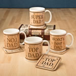 DAD Mug and coaster set from gifts by fashioncraft