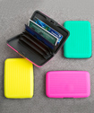 Fun Neon Wallet, Credit Card Holder From Gifts By Fashioncraft