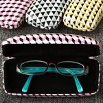 Geometric design fashion eyeglass holders from gifts by fashioncraft