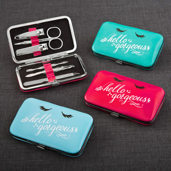 Hello Gorgeous Manicure set from gifts by Fashioncraft®