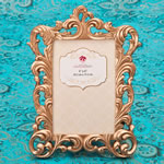 Magnificent Rose Gold Baroque 4 x 6 frame from gifts by Fashioncraft®