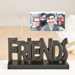 Friends black photo holder from gifts by fashioncraft