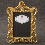 Gold Metallic baroque frame 5x7 from gifts by Fashioncraft®