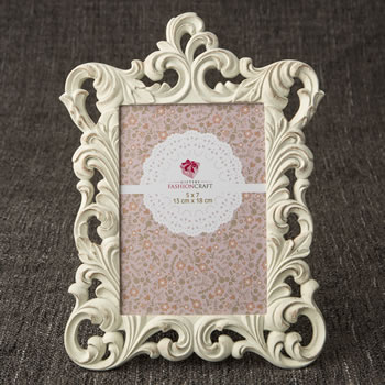Opulent Brushed Gold Baroque 5 x 7 frame from gifts by Fashioncraft®