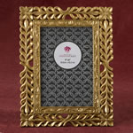 magnificent Gold Lattice 4 x 6 frame from fashioncraft