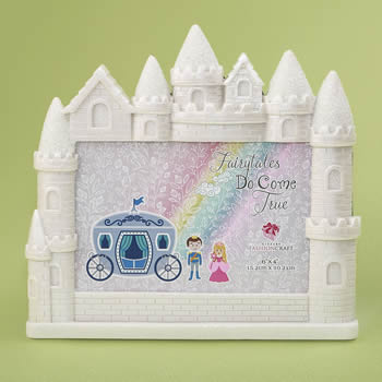 Castle 4 x 6 frame from gifts by fashioncraft