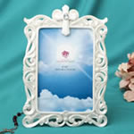 Stunning Pearl white Cross frame - 4 x 6 from Gifts By Fashioncraft®