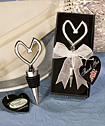 <i>Vineyard Collection™</i> Heart Themed Wine Stoppers