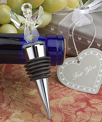<em>Choice Crystal Collection</em> Angel Wine Bottle Stoppers