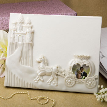 Fairytale design / Cinderella themed Guest book