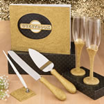Golden elegance collection 4-piece gift set from Fashioncraft
