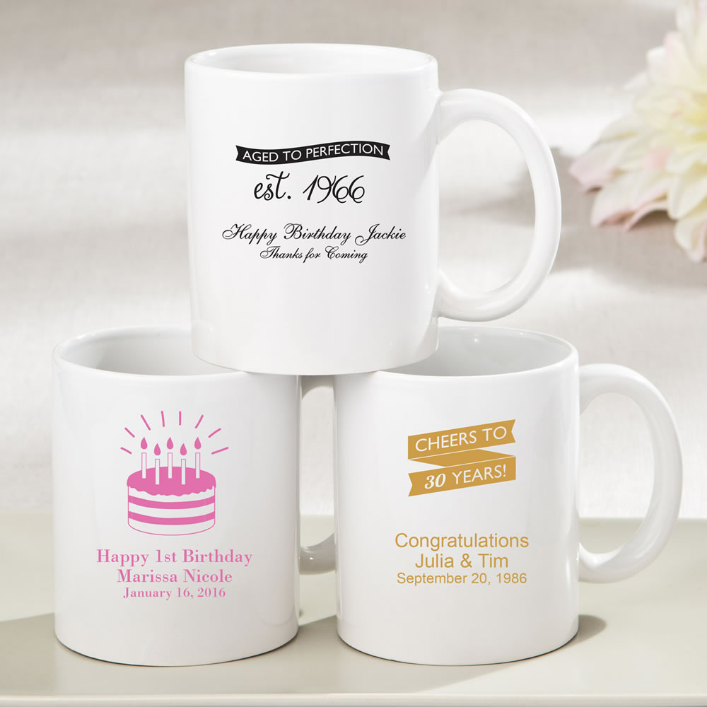 Personalized Birthday favors
