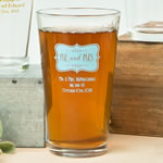 Expressions Collection 16oz pint glasses