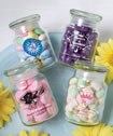 Personalized Glass Jar Favors
