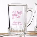 Design your own collection personalized screen glass mug