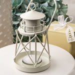 Lighthouse Luminous metal lantern from Fashioncraft®