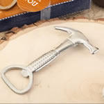 Hammer design metal bottle opener
