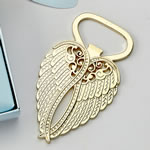 Gold Metal  Angel wing bottle opener