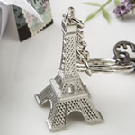 Eiffel tower metal key chains from Fashioncraft®