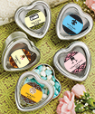 <em>Personalized Expressions Collection</em> Silver Heart Shaped Mint Tins