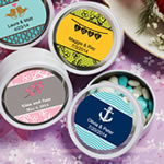 <em>Personalized Expressions Collection</em> White Mint Tin Favors