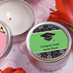 <em>Personalized Expressions Collection</em> Scented Round Travel Candles