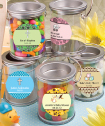 <em>Design Your Own Collection</em> Mini Paint Cans Favors