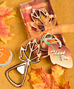 <em>Autumn Magic Collection</em> Leaf Design Bottle  Openers