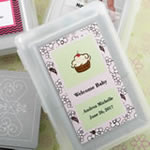 Personalized  expressions collection playing cards with a designer top