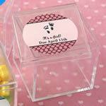 Personalized expressions Square Acrylic Box