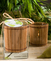 <em>Natural Selections Collection</em> Bamboo Wood Candles