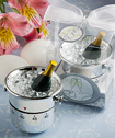 Whimsical Champagne And Ice Bucket Kitchen Timer  Favors