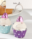 Adorable cupcake place card holders