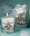<em>Regal Favor  Collection</em> Angel Themed Candle Holders