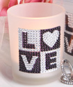 <em>Bling Collection</em> candle  holder favors