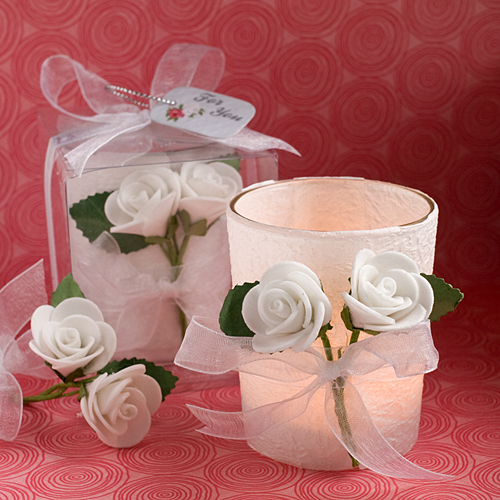 Calla Lilly Design Candle Favors