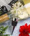 <em>Murano Glass  Collection</em> Snowflake Design Wine Bottle Stoppers