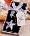 Brilliant starfish key chain