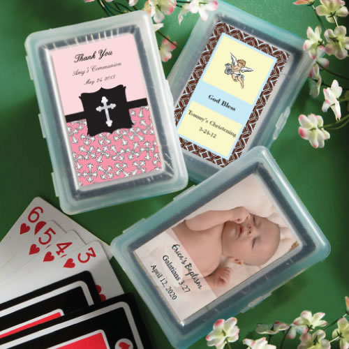All Personalized Playing Card favors